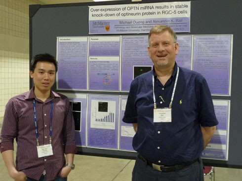 Researchers Michael Duong and Dr. Alexander Ball